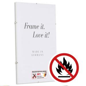 Klassificeret Standard A1 Brandbeskyttelses-Clipramme