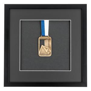 Medaljeramme 30x30 cm, sort