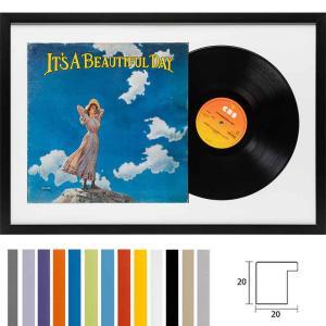 """Træramme """"Top Cube"""" til LP'er med omslag"""
