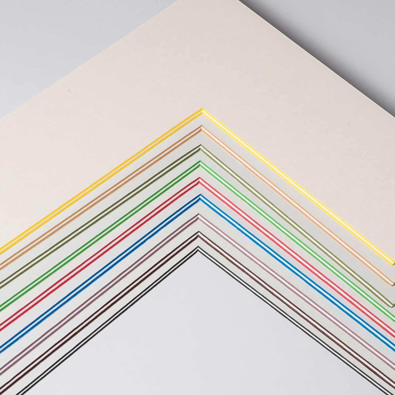 2,2 mm ColorCoreStripe Passepartout med individuel tilpasning