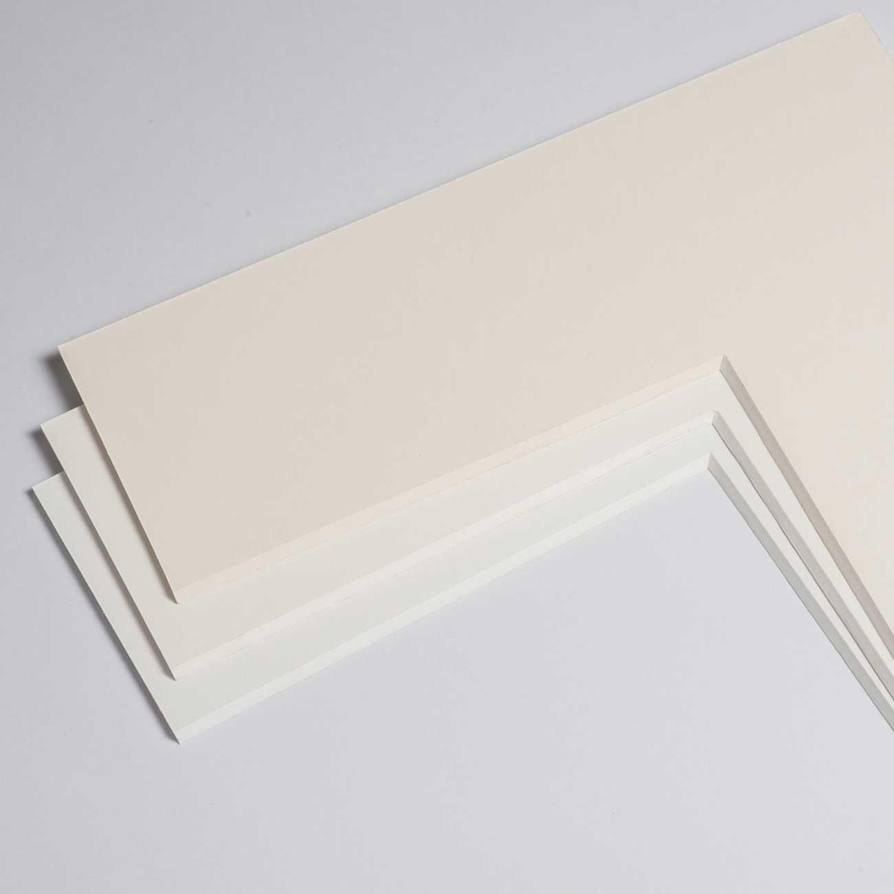 2,3 mm Bomuldspassepartout med individuel tilpasning