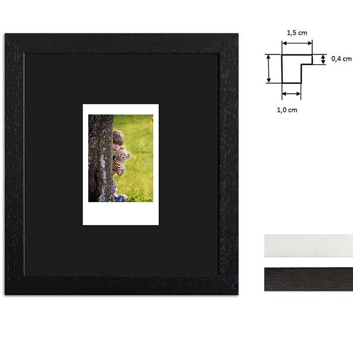 Billedramme til 1 polaroidbillede - Type Instax Mini