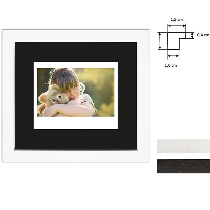 Billedramme til 1 polaroidbillede - Type Instax Wide