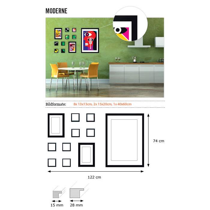 """Væggalleri """"Moderne"""""""