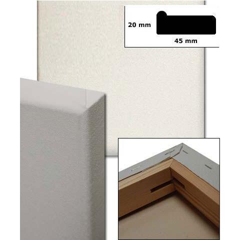 Lærred, Profil 4,5x1,9 cm specialskæring