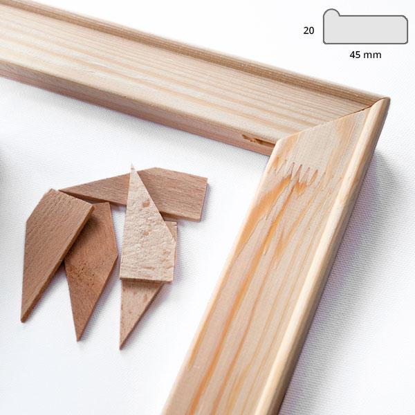 Kilerammelister 4,5x1,9 cm