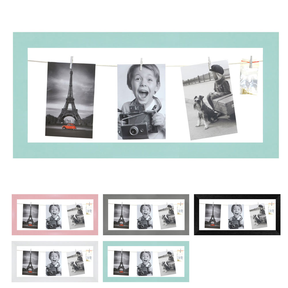 Fotogalleri med snor til 4 billeder