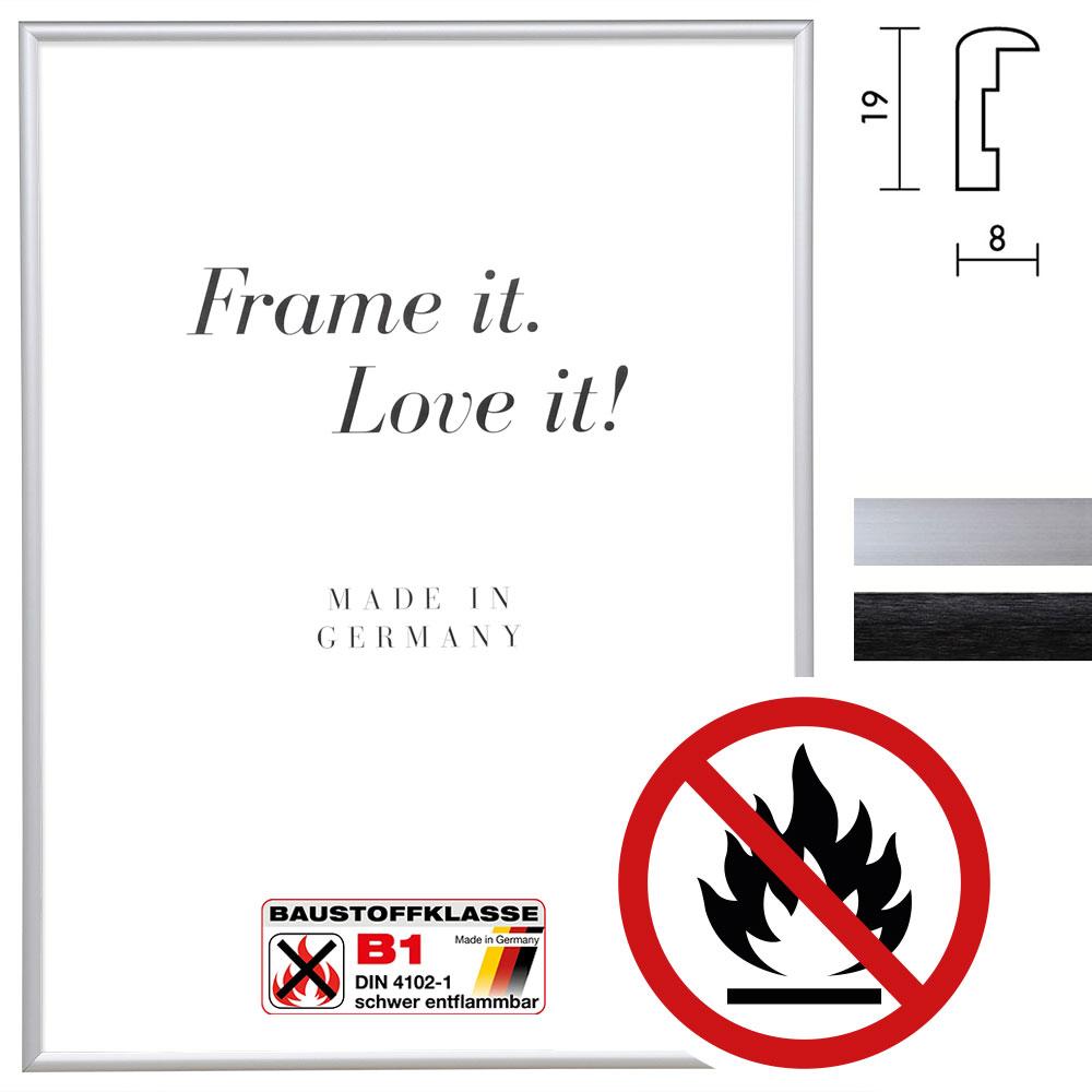 Certificeret Standard B1 Brandbeskyttelsesramme Econ rund