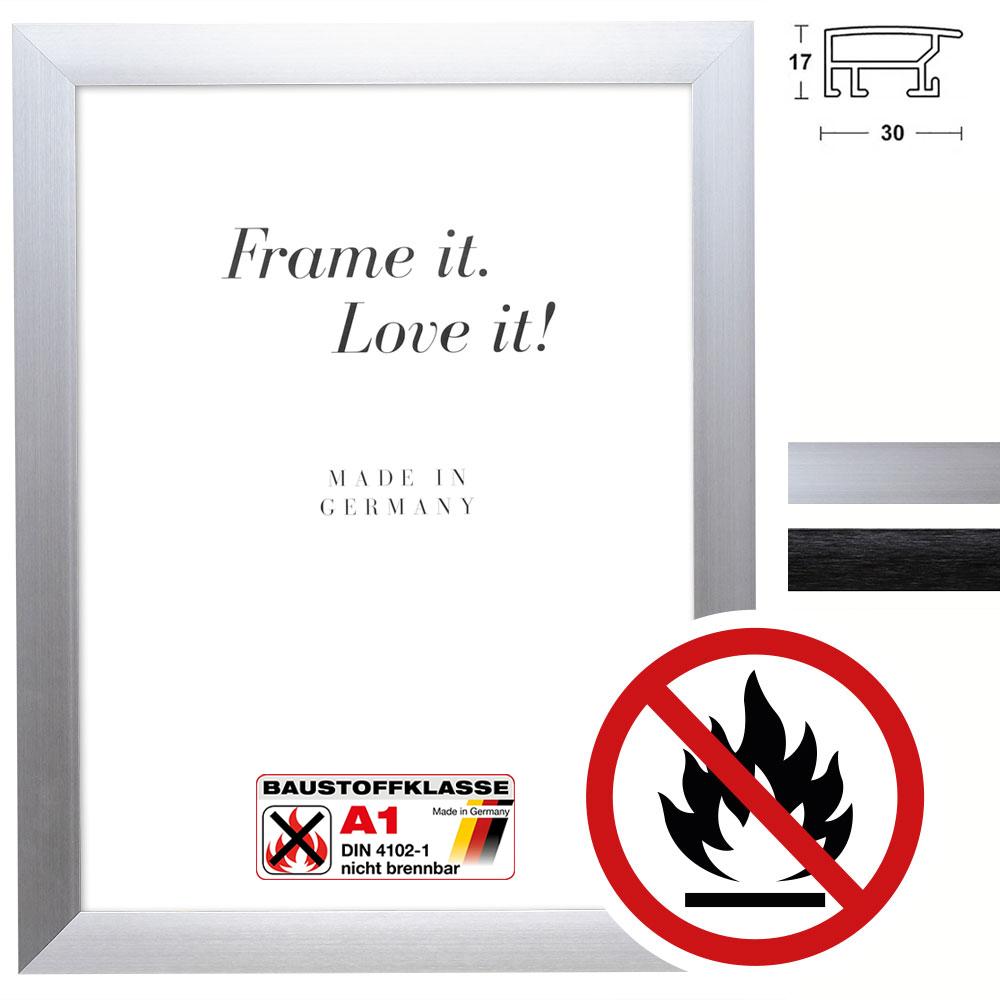 Klassificeret Standard A1 Brandbeskyttelsesramme Econ bred