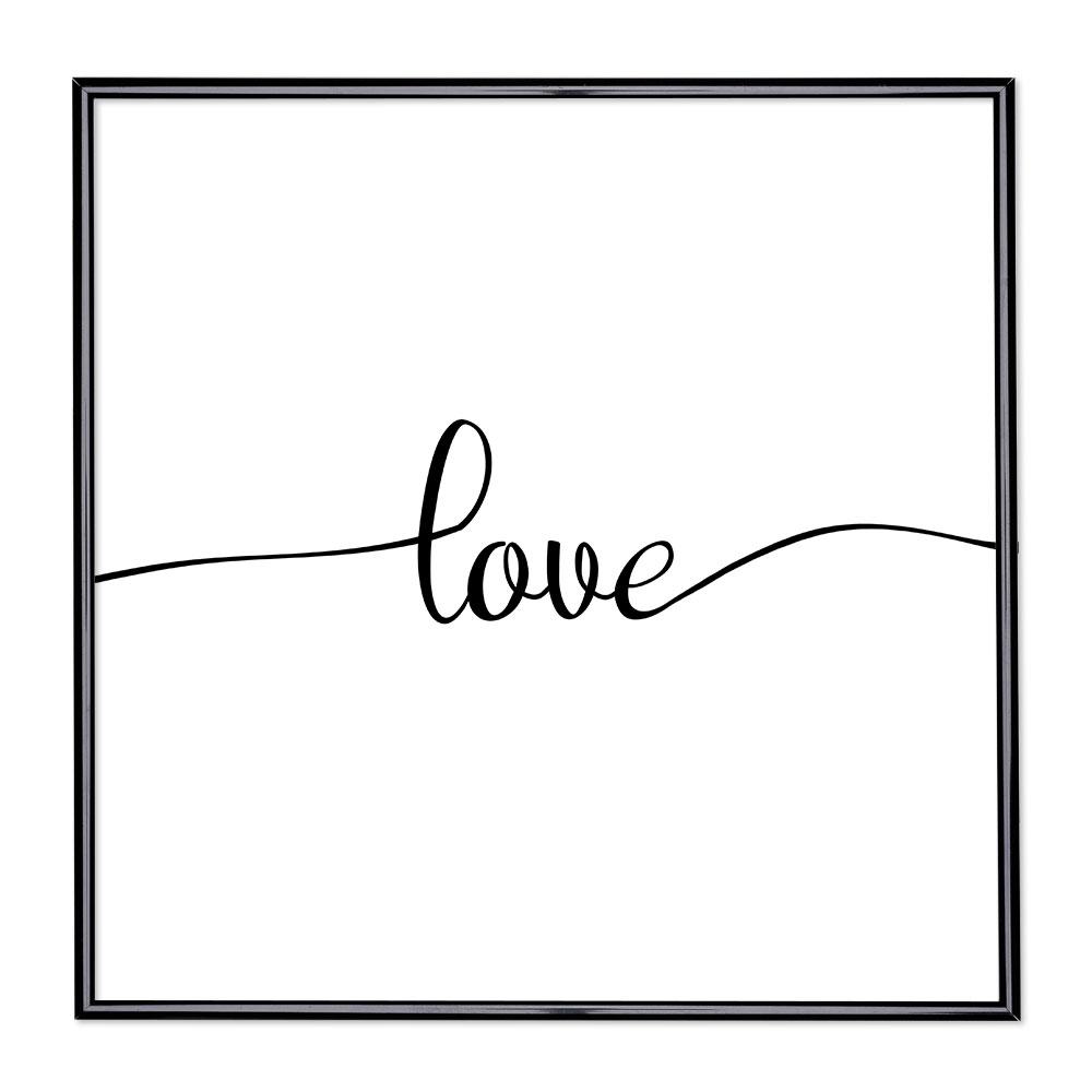 Billedramme med ordsprog - Love 1