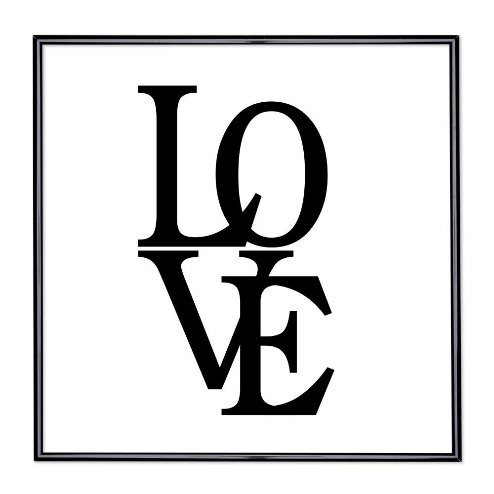 Billedramme med ordsprog - Love 2