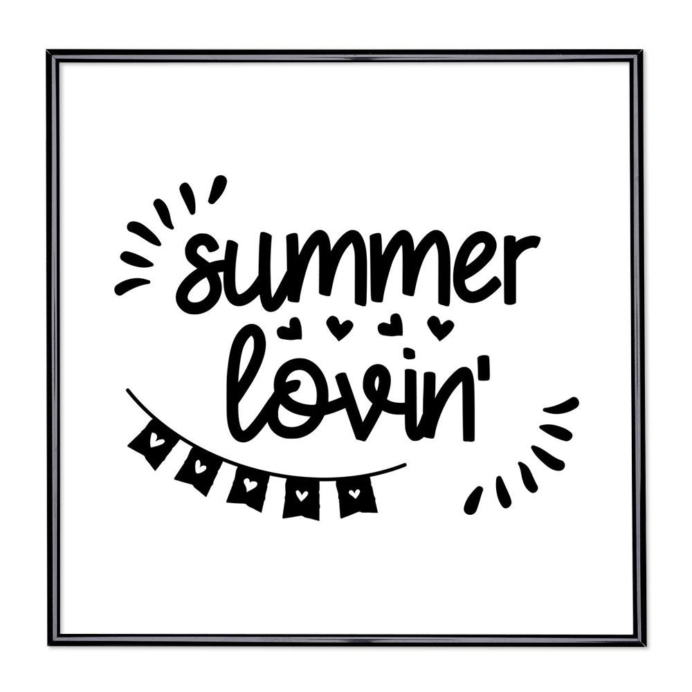 Billedramme med ordsprog - Summer Lovin