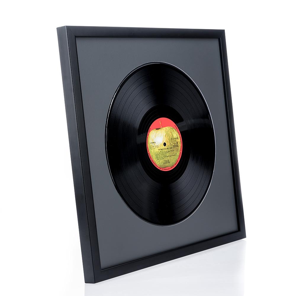 """Træramme """"Top Cube"""" til LP'er"""