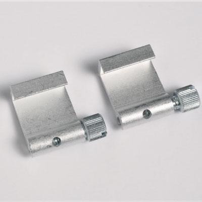 2 stk. Aluminium-Bilderhaken
