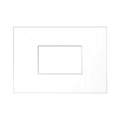Galleripassepartout 2,5 mm, samlet størrelse 21x29,7 cm