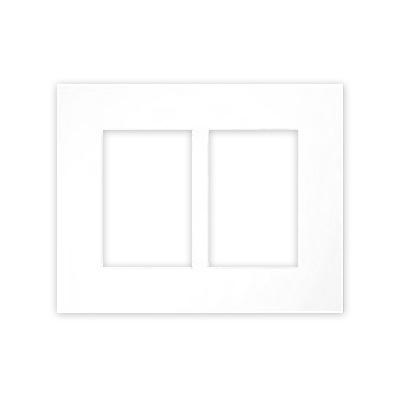 Galleripassepartout 2,5 mm, samlet størrelse 24x30 cm