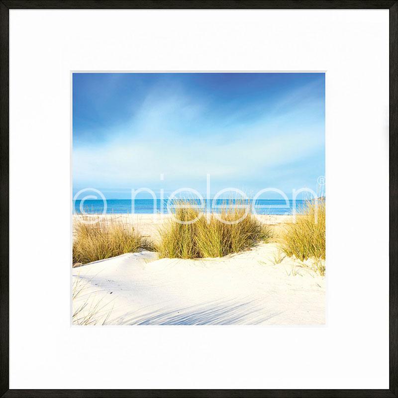 """Indrammet billede """"Dune"""" med aluramme C2"""