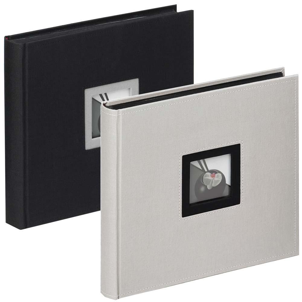 """Fotoalbum """"Black & White"""" til at klæbe billeder ind i, 26x25 cm"""