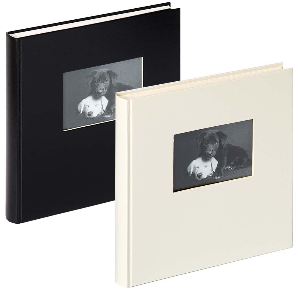 "Fotoalbum ""Charm"" med 60 hvide sider"